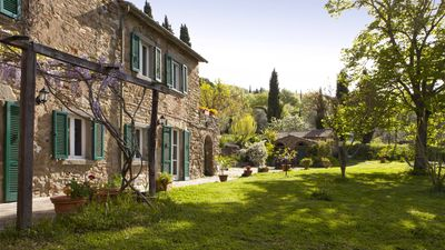 Photo for Go Green and Experience a Comfortable Organic Tuscan Farm with Private Pool
