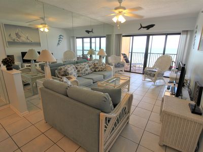 Photo for Villa Madeira #605 3 Bedroom 2 Bath Unit WIFI Pool Balcony with Gulf Front View NEW LISTING!