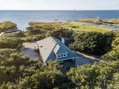 Photo for WATERFRONT Pet Friendly Cottage Partial Weeks - Seasonal Rates - Kite & Surf