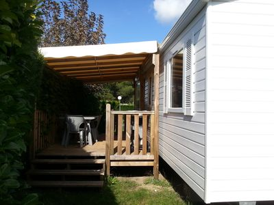 Photo for Mobil home in camping **** in La Palmyre