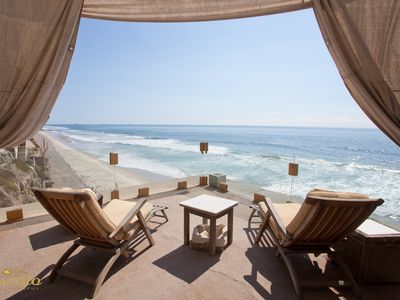 Photo for Elegant Five-Bedroom, Five-Level Oceanfront Entertainment Venue