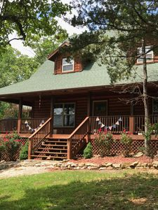 Photo for Big Woods- Sleeps 12, w/ Pool, Next to Marina, Quiet side of Lake, Roaring River