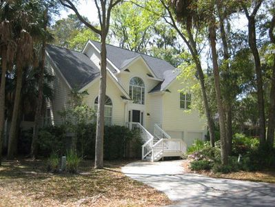 Photo for Palmetto Dunes Luxury 5 BR/4.5 BA Home Near Beach w/ Private Pool/Hot Tub