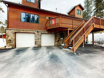 Photo for NEW LISTING! Beautiful Breckenridge home w/balcony & grill-Bus to lifts