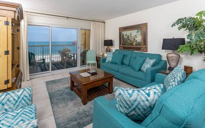 Driftwood Towers! Beach Front 2BR