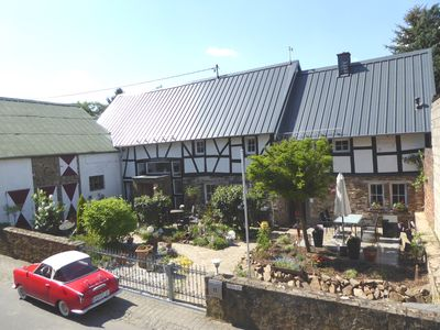 Photo for Half-timbered cottage, renovated, with modern equipment on 65m ², near the Nürburgring
