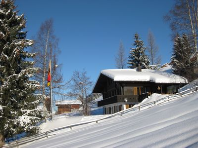 Photo for Dacha, quiet, sunny position, ideal with children, garden, close to ski / hiking area