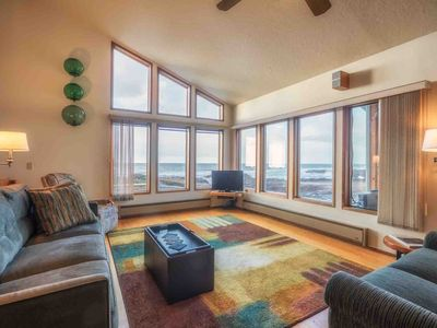 Photo for Magical Ocean Front in Yachats. Dog Friendly. Electric Car Charger! FREE NIGHT