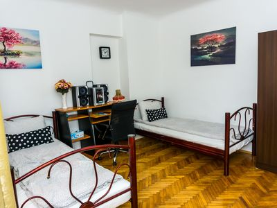 Photo for Old Town-Twin Private Room Nr 5 &Self Check In System&Free WiFi&Free Washer