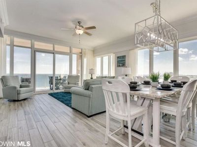 Photo for Beachfront 4BR condo with six Comfortable queen beds and King size bed in Master