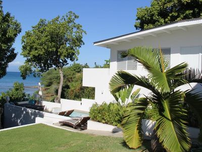 Photo for Seaside Vieques: 2 Bedroom Beach House Directly on Ocean, with Private Pool