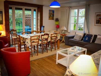 Photo for Flat with fabulous downtown and beach location in Cabourg