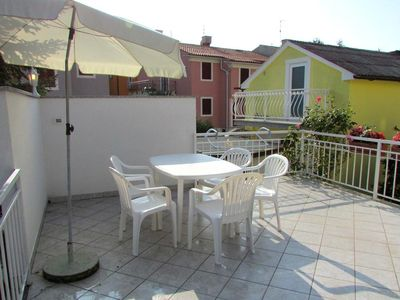 Photo for Two bedroom apartment with terrace Umag (A-3360-a)