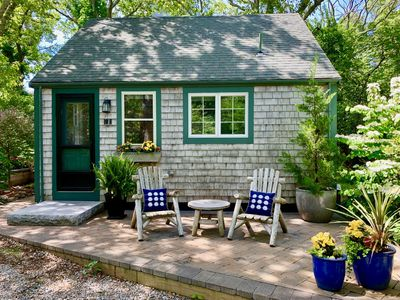 Photo for Quintessential P'town Cottage, Beautiful Landscaped Patio, Hot tub