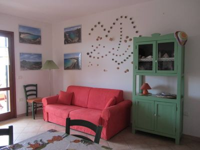 Photo for Apartment -about 500 meters away from the beach Rena Bianca
