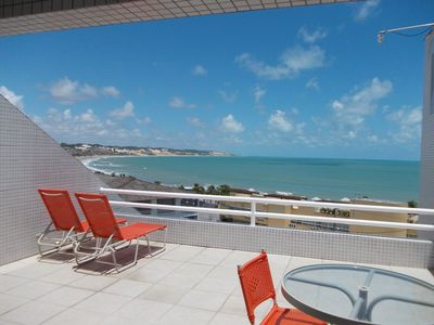 Photo for Beautiful flat sea view a few meters from the beach of Ponta Negra