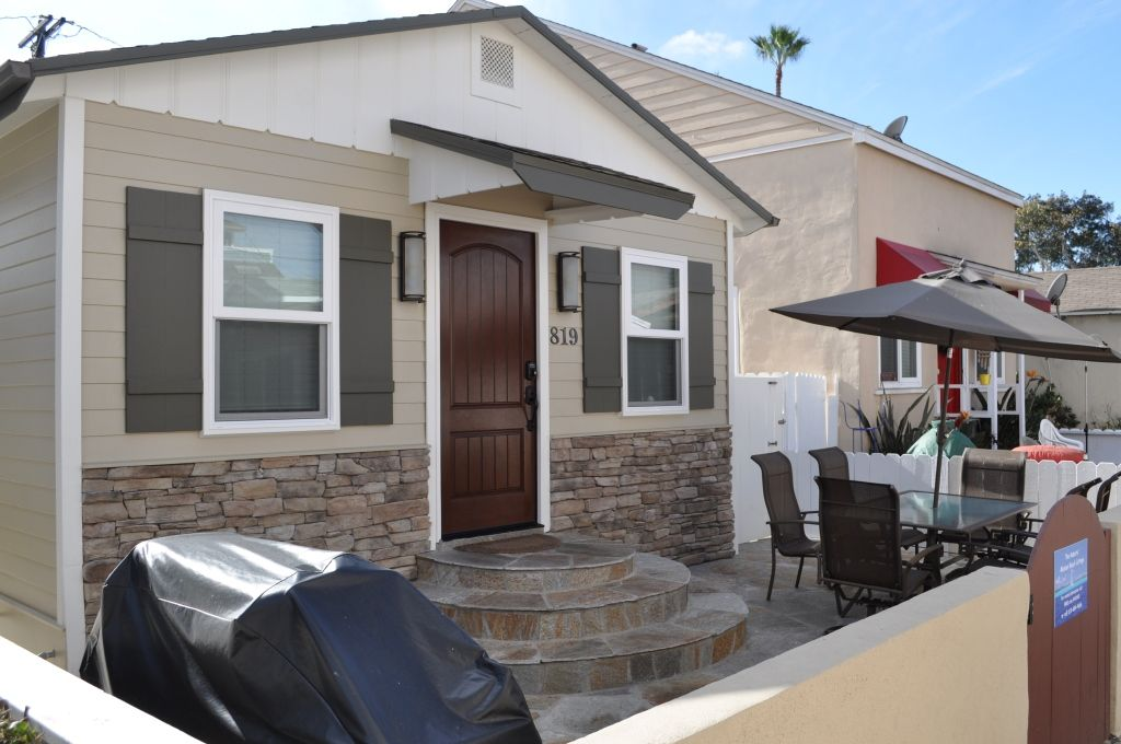 Mission Beach House Al New Flagstone Patio With Natural Gas Bbq And Furniture To