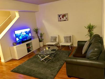 Photo for 2Bed 2.5Bath Condo Close To Airport w Pool Gym 10Minutes From Downtown