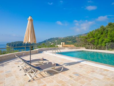 Photo for Paleopetres - K-Four- social distance - beach at 200m - large pool - sea views
