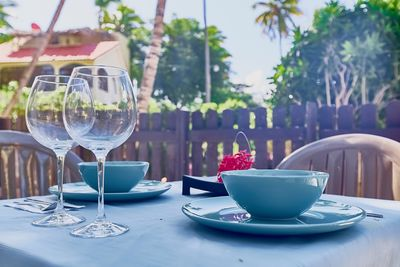 You can enjoy your morning coffee or have a romantic dinner here.
