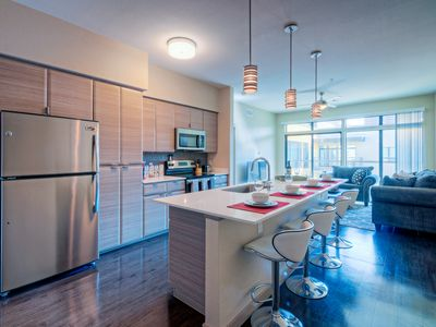 Photo for Executive Apartment ⦿ King 1 Bed ⦿Arts District ⦿ Sleeps 6 ⦿ Military Discnt