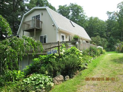 Photo for Brook Song -- a gardenside, charming 3BR.2BA Guest Home, sleeps 6