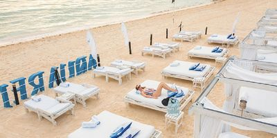 Photo for Beautiful  White Sand Beach at Presidential Suites of Punta Cana