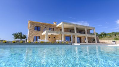Photo for Brand new luxury villa with 7 bedrooms, private pool and stunning sea views