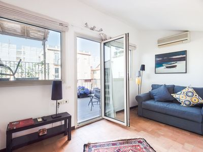Photo for Lovely apartment for 4 people with A/C, WIFI and TV