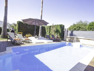 Photo for Villa Alcudia beach, luxury with private pool