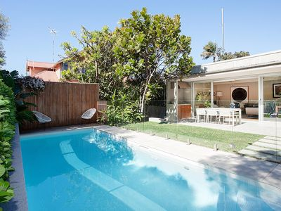 Photo for CONTEMPORARY CHIC CLOVELLY HOME - Five Bedroom 2 Lounge double garage Family Home near Clovelly Beach