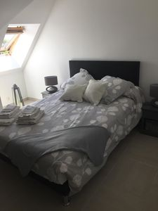 Photo for Apart. F2 in Caen completely renovated with garage and WIFI.