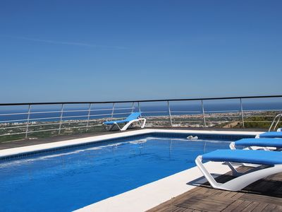 Photo for Beautiful house with spectacular views, private pool and free wi fi