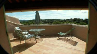 Photo for Home 3* with terrace in Bedoin, village of Provence at the foot of the Mount Ventoux