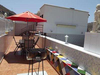 Photo for EXCELLENT VILLA, SEA, SUN, BEACH AND PRIVATE POOL, CLIMATIZED, UP TO 5 PEOPLE