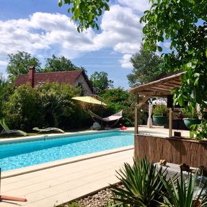 Photo for Dordogne Farmhouse, Private Heated Pool, Garden, Wi-Fi,  all mod cons sleeps 8+