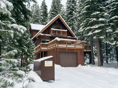 Photo for Warm, updated house w/sunny deck - close to beach, trails and Tahoe City