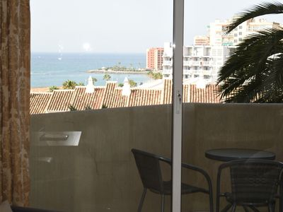 Photo for Superb 5star one bedroom beach side apartment in a Benalmadena family Complex
