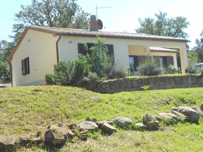 Photo for In Tuscany, detached house in the hills of the Maremma.