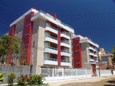 Photo for APARTMENT OF 2 DORMS WITH VARANDA GOURMET LOCATED TO 100 METERS OF THE BEACH