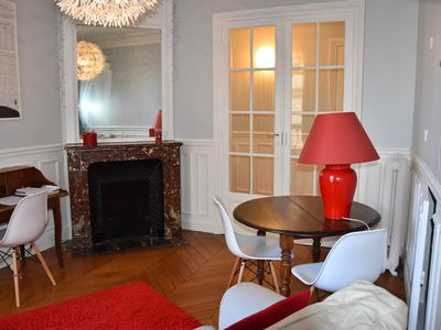 Photo for 65M2 apartment in the heart of Paris (2 bedrooms)