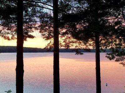Photo for Air Conditioned 3 Bedroom Lake House in Poland, Maine