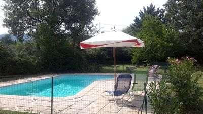 Photo for House Saint Maximin, 4 to 6 people, with private pool