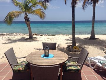 Best Ocean View on the Island with only sand between you and the caribbean