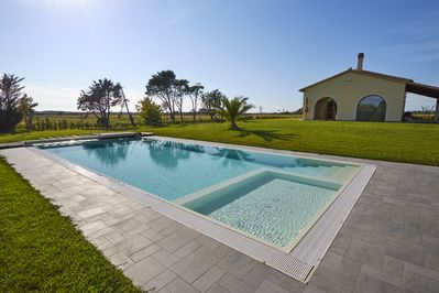 The Villa has its own private pool
