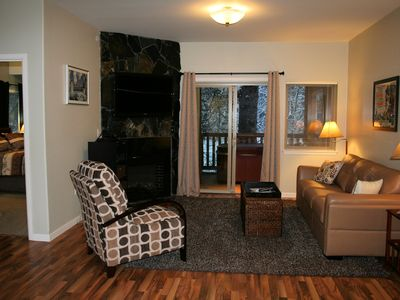 Photo for Alyeska/ Girdwood Beautifully Appointed Top Floor Condo With Hot Tub