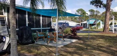 Photo for Bright Sunny Mobile Home in #1 Rated Sun N Fun RV Resort