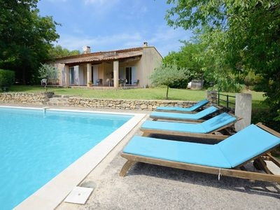 Photo for THE HOUSE OF PRES, on an area of ​​10 hectares heated pool