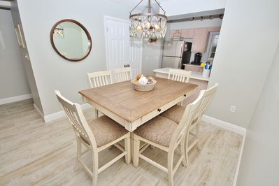 This Dining Table Seats 6, Perfect for the Entire Family!