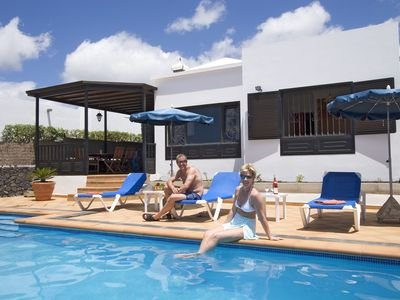 Photo for Villa Jupiter. 3 Bedroom Private Villa, Private Heated Pool close to amenities.